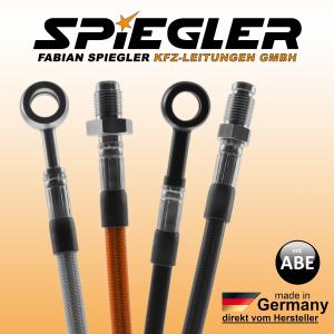 Stahlflex Bremsleitung für KAWASAKI Z 900 mit ABS ZR900S 900ccm Vorne + Hinten wie Orig. 2020-