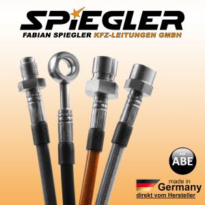 Stahlflex Bremsleitung für: Audi A4 Avant 8K5, B8  Baujahr:2008/09-2012/03  Motor:3197 ccm, 195 KW, 265 PS  Typ:3.2 FSI HSN/TSN:0588|AIU0588|APO