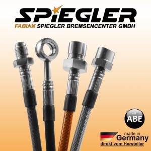 Stahlflex Bremsleitung für: Audi A7 Sportback 4KA  Baujahr:2018/04-2020/12  Motor:2967 ccm, 155 KW, 211 PS  Typ:45 TDI Mild Hybrid quattro HSN/TSN:0588|BPU